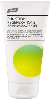 EFASIT Regenerations Beinmassage Gel Weinlaub