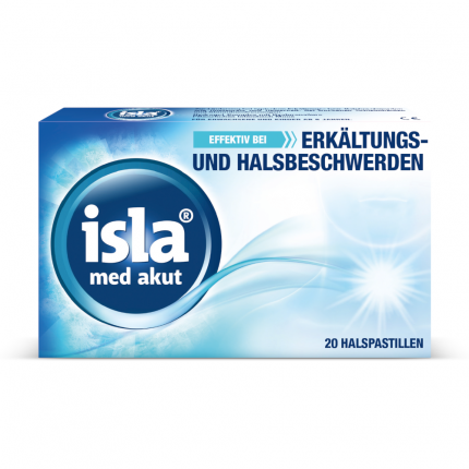Isla Med Akut Pastillen