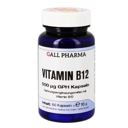Vitamin B12 500ug Ghp Kapseln