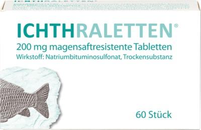 ICHTHRALETTEN 200mg magensaftresistente Tabletten