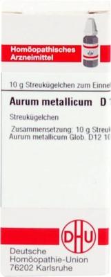 AURUM METALLICUM D 12 Globuli