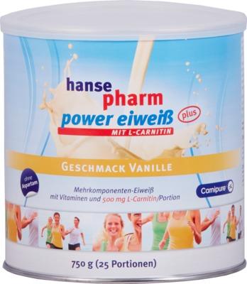 HANSEPHARM Power Eiweiß plus Vanille Pulver