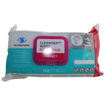 CLEANISEPT WIPES FORTE MAXI PROTECT