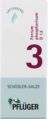 BIOCHEMIE Pflüger 3 Ferrum phosphoricum D 12 Tro.