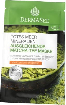 DERMASEL Maske Matcha Tee ausgleichend
