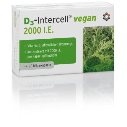 D3-Intercell vegan 2000 I.E.