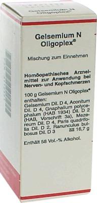 GELSEMIUM N Oligoplex Liquidum
