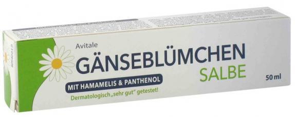 Avitale GÄNSEBLÜMCHEN SALBE mit Hamamelis und Panthenol