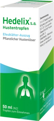 Hedelix s.a. Hustentropfen