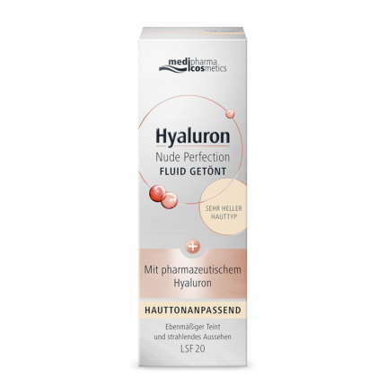 Hyaluron Nude Perfec.getönt.fluid LSF 20 Sehr Hell