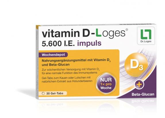 vitamin D-Loges 5.600 I.E. impuls