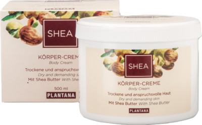 PLANTANA Shea-Butter Körper Creme