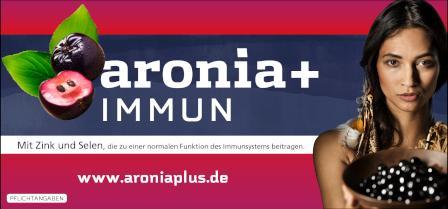 Zu den aronia+ IMMUN Produkten!